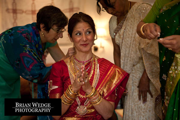 Day Two Traditional Indian Ceremony preparations