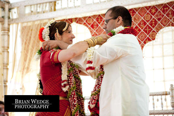 the details and nuances of their traditional Indian wedding on Sunday
